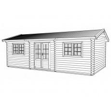 Deposit for 6 x 5 m log cabin