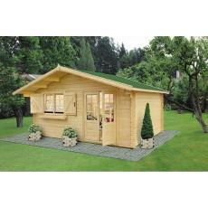 Log Cabin Lancashire (4,5 x 4 m, 34 mm)