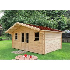 Log Cabin Yorkshire (5 x 4 m, 34 mm)